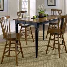 Creations II Casual 5 Piece Counter Height Dining Set