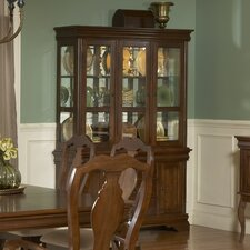 <strong>Liberty Furniture</strong> Louis Philippe Formal China Cabinet