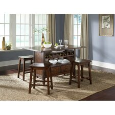 Cabin Fever Formal Center Island Dining Table Base