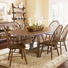 Farmhouse Casual 7 Piece Dining Set