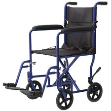 Aluminum Lightweight Bariatric Transport Wheelchair