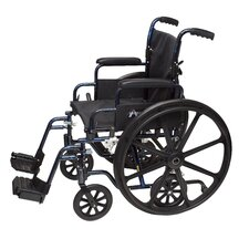 "Transformer 18"" Lightweight Transport Wheelchair"