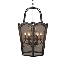 Cargyle Meadow 6 Light Candle Chandelier