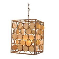 Vogelsang 4 Light Candle Chandelier