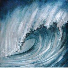 Crashing Wave Original Painting
