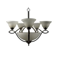 <strong>Yosemite Home Decor</strong> Vernal Falls 8 Light Chandelier
