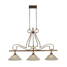 <strong>Yosemite Home Decor</strong> Alina 3 Light Kitchen Island Pendant