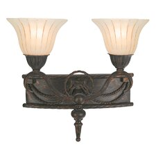 <strong>Yosemite Home Decor</strong> Isabella 2 Light Vanity Light