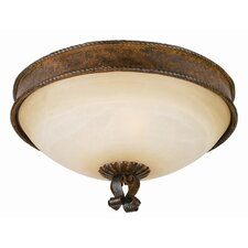 <strong>Yosemite Home Decor</strong> McKensi 3 Light Flush Mount