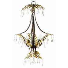 New Plantation 3 Light Mini Chandelier