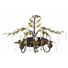 New Plantation 3 Light Vanity Light