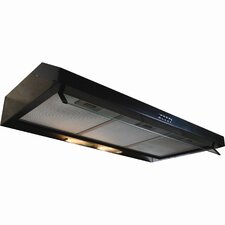 "Builder Series 35.31"" 300 CFM Undercabinet Range Hood with Internal Blower"