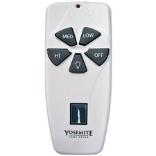 "4.75"" Remote Control with Receiver for Ceiling Fan in White"