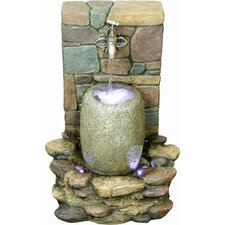<strong>Yosemite Home Decor</strong> Faucet with Bucket Fountain