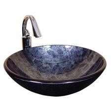 Round Glass Bathroom Sink