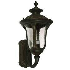 <strong>Yosemite Home Decor</strong> Tori 3 Light Outdoor Wall Lantern