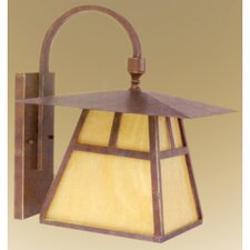 <strong>Yosemite Home Decor</strong> Incline 1 Light Outdoor Wall Lantern