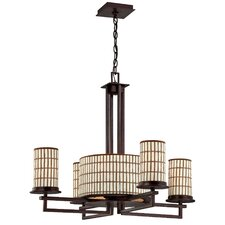 <strong>Yosemite Home Decor</strong> Sorrel 8 Light Chandelier