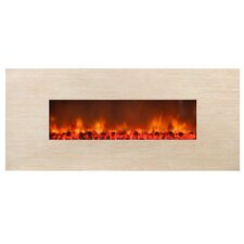<strong>Yosemite Home Decor</strong> Stone Widescreen Electric Fireplace