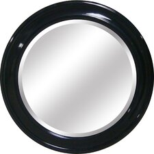 <strong>Yosemite Home Decor</strong> Round Framed Mirror