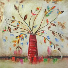 Revealed Art Fall into Color II Original Painting on Canvas