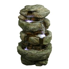 Tiered Rock Fountain