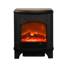 <strong>Yosemite Home Decor</strong> Cronus 220 Square Foot Electric Fireplace Stove