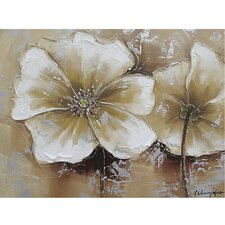 Revealed Art Full Bloom II Original Painting on Canvas