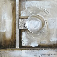 Contemporary & Abstract Art Orb Illusion II Original Painting on Canvas