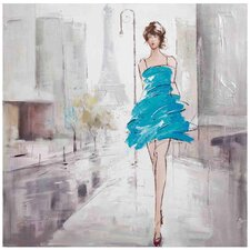 New Revealed Art Tres Chic Original Painting on Canvas