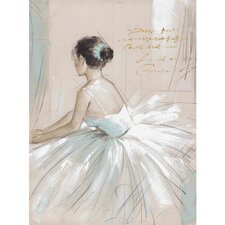 New Revealed Art Prima Ballerina Original Painting on Canvas