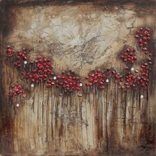 Blooms and Berries II Canvas Art (Set of 3)