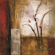 New Artwork Lilies In The Field I Original Painting on Canvas