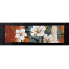 Pretty in White II Canvas Art