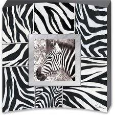 Surrounded by Zebras Canvas Art