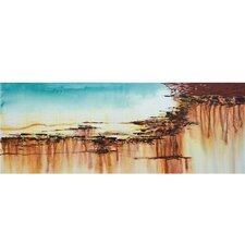 "<strong>Yosemite Home Decor</strong> Precipitous IV Wall Art - 47"" x 18"""