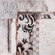 "<strong>Yosemite Home Decor</strong> Rosettes II Wall Art - 31"" x 31"""