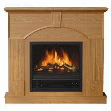 Vail Free Standing Electric Fireplace