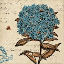 Botanical Blue II Canvas Wall Art