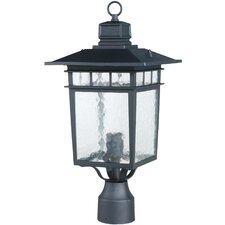 <strong>Yosemite Home Decor</strong> Dante 1 Light Outdoor Post Lantern
