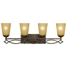 <strong>Yosemite Home Decor</strong> Scarlet 4 Light Bath Vanity Light