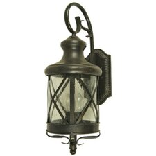 <strong>Yosemite Home Decor</strong> Lorenza 3 Light Outdoor Wall Lantern