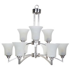 <strong>Yosemite Home Decor</strong> Aldridge 9 Light Chandelier