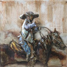 Metal Artwork Rodeo Original Painting