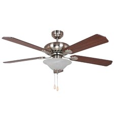 "<strong>Yosemite Home Decor</strong> 52"" Whitney 5 Blade Ceiling Fan"
