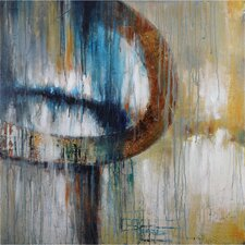 Revealed Artwork Wistful Painting Print on Canvas