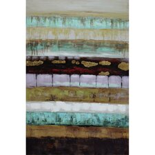 Revealed Artwork Layers II Canvas Wall Art