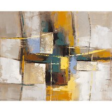 Revealed Artwork Exuberant Original Painting on Canvas