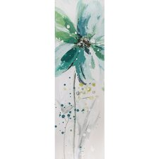 <strong>Yosemite Home Decor</strong> Revealed Artwork Lime Flower II Wall Art