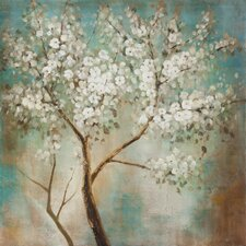Revealed Artwork Tree In Bloom Original Painting on Canvas